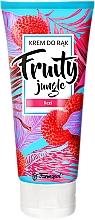 """Parfumuri și produse cosmetice Cremă de mâini """"Lychee"""" - Farmapol Fruity Jungle Hand Cream"""