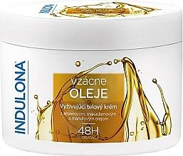 Parfumuri și produse cosmetice Cremă nutritivă cu uleiuri pentru corp - Indulona Nourishing Body Cream With Rare Oils