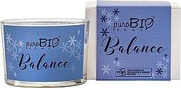 Parfumuri și produse cosmetice Lumânare organică - PuroBio Cosmetics Home Organic Balance
