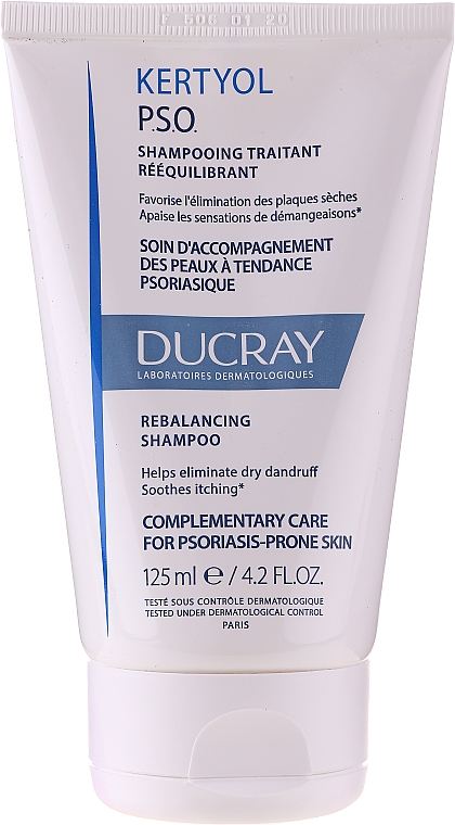 Set - Ducray Kertyol P.S.O. (shm/100ml + concentrate/125ml) — Imagine N5
