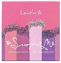 Parfumuri și produse cosmetice Paletă farduri de ochi - Lovely Surprise Me Eyeshadow Palette Violet Field Edition