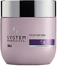 Parfumuri și produse cosmetice Mască pentru păr colorat - System Professional Color Save Lipidcode Mask C3