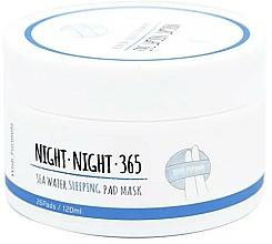 Parfumuri și produse cosmetice Pad-uri de îngrijire nocturnă cu apă de mare și colagen - Wish Formula Night Night 365 Sea Water Sleeping Pad Mask