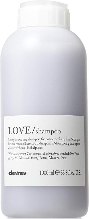 Șampon pentru netezirea părului - Davines Shampoo Lisciante Addolcente — Imagine N1
