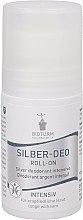 "Parfumuri și produse cosmetice Deodorant antiperspirant roll-on ""Intensiv"" - Bioturm Silver Deo Intensiv Roll-On No.37"