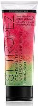 Parfumuri și produse cosmetice Loțiune auto-bronzantă cu aromă de pepene verde - St.Tropez Gradual Tan Watermelon Infusion