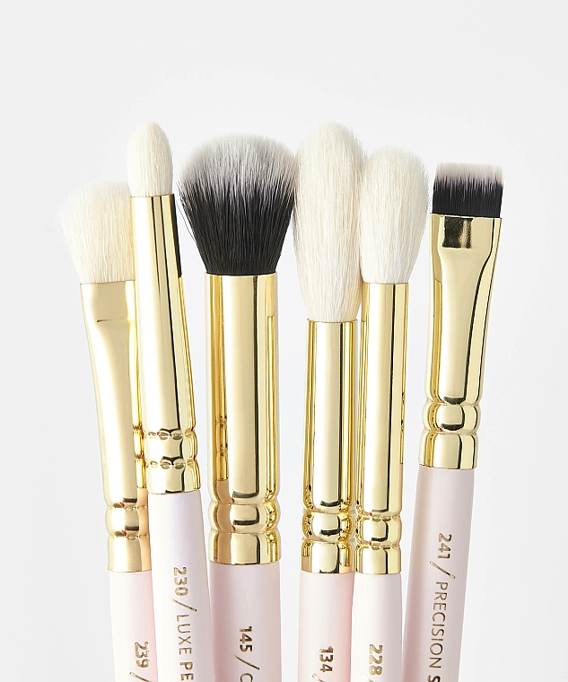 Set pensule pentru machiaj - Zoeva Screen Queen Complete Eye Brush Set (12 brushes + clutch) — Imagine N3