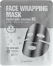 Parfumuri și produse cosmetice Mască în două straturi cu acid hialuronic - Berrisom Face Wrapping Mask Hyaluronic Solution