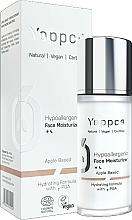 Parfumuri și produse cosmetice Cremă hidratantă pentru față - Yappco Hypoallergenic Moisturizer Face Cream