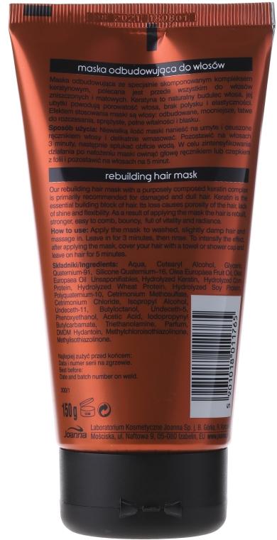 Masca de păr cu keratina - Joanna Keratin Hair Mask — Imagine N2