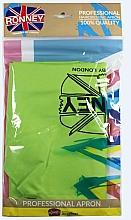 Parfumuri și produse cosmetice Pelerină pentru coafor, verde deschis - Ronney Professional Hairdressing Apron Light Green