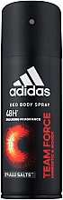 Parfumuri și produse cosmetice Adidas Team Force - Deodorant