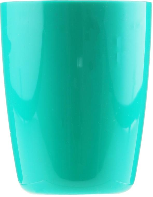 Pahar pentru baie, 9541, turcoaz - Donegal Bathroom Cup — Imagine N1