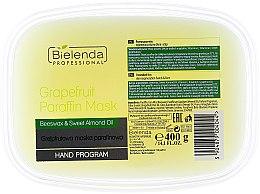 Parfumuri și produse cosmetice Mască de parafină cu grapefruit - Bielenda Professional Grapefruit Paraffin Mask Beeswax & Almond Oil