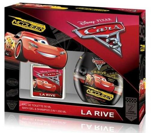 La Rive Cars - Set (edt/50 + sh/gel/250ml)