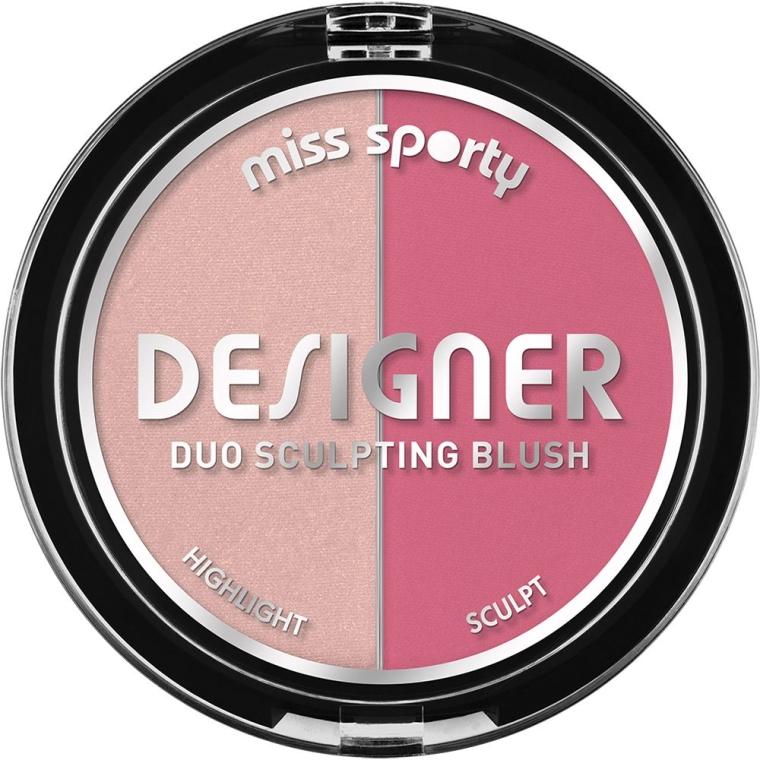 Fard de obraz - Miss Sporty Draping Designer Duo Sculpting Blush
