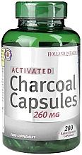 Parfumuri și produse cosmetice Capsule cu cărbune activ - Holland & Barrett Activated Charcoal Capsules 260mg