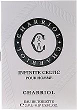 Parfumuri și produse cosmetice Charriol Infinite Celtic Pour Homme - Apă de toaletă (mostră)