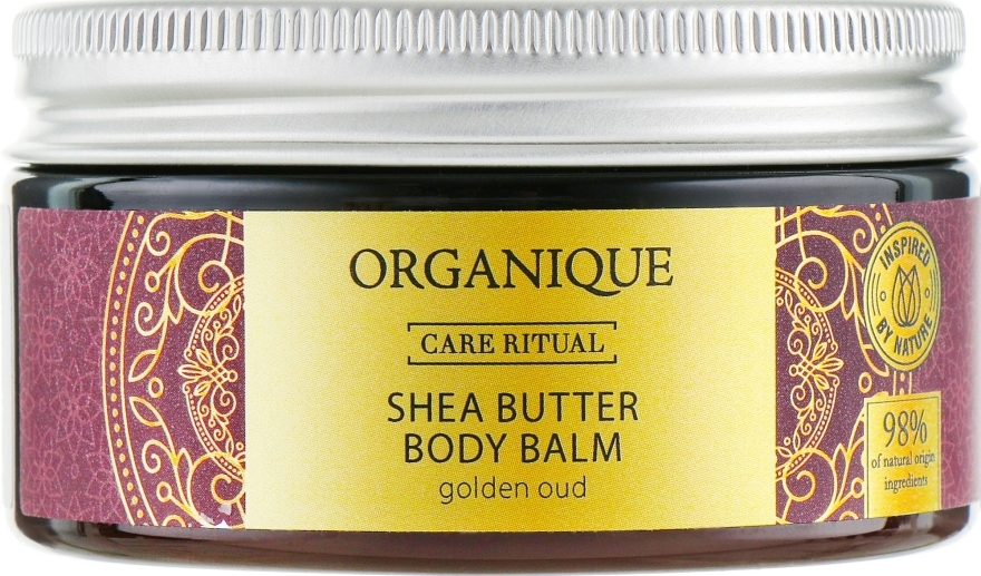 "Balsam de corp ""Golden Oud "" - Organique Organique Shea Butter Body Balm Golden Oud — Imagine N1"