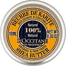 Parfumuri și produse cosmetice Unt pentru corp - L'occitane Organic Pure Shea Butter (Mini)