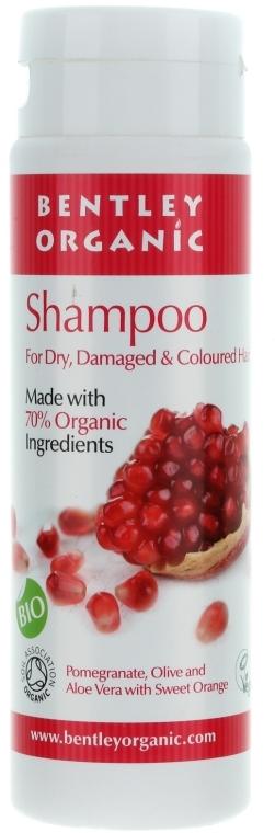 Șampon pentru păr uscat și deteriorat - Bentley Organic Shampoo For Dry & Damaged Hair — Imagine N1