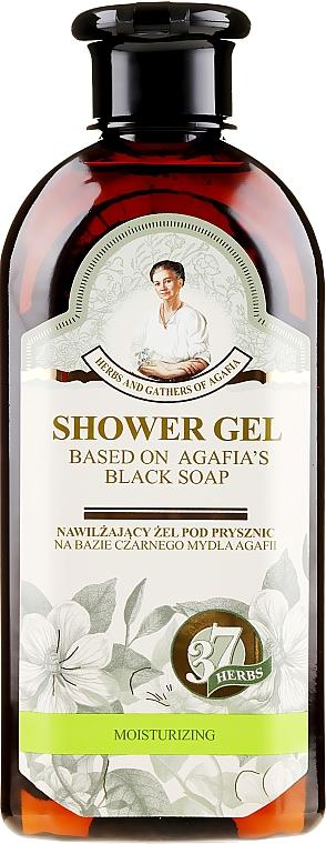 Gel de duș pe bază de săpun negru - Reţete bunicii Agafia Ierburi și Adunături — Imagine N1