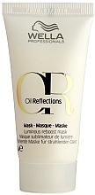 Parfumuri și produse cosmetice Mască pentru strălucirea intensă a părului - Wella Professionals Oil Reflections Luminous Reboost Mask (mini)
