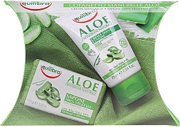 Parfumuri și produse cosmetice Set - Equilibra Aloe (cr/75ml + soap/100g)