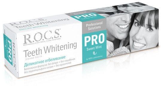 Pastă de dinți - R.O.C.S. PRO Sweet Mint — Imagine N1