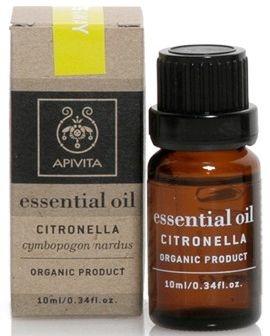 """Ulei esențial """"Citronella"""" - Apivita Aromatherapy Organic Citronella Oil  — Imagine N1"""