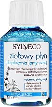 Parfumuri și produse cosmetice Agent de clătire pentru cavitatea bucală - Sylveco Herbal Mouthwash (mini)