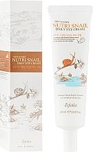 Parfumuri și produse cosmetice Cremă cu extract de mucină de melc pentru ochi - Esfolio Nutri Snail Daily Eye Cream