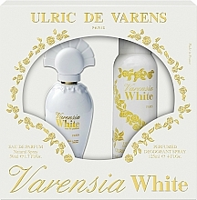 Parfumuri și produse cosmetice Ulric De Varens Varensia White - Set (edp/50ml + deo/125ml)