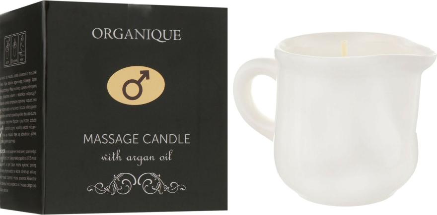 Lumânare cu ulei de argan pentru SPA masaj, colonial - Organique Spa Candle — Imagine N1