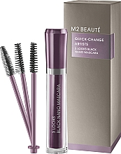 Parfumuri și produse cosmetice Rimel - M2Beaute Quick-Change Artists 3 Look Black Nano Mascara