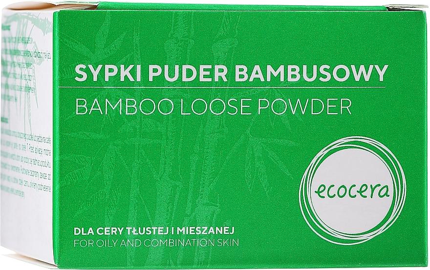 Pudră de Bambus matifiantă pentru față - Ecocera Bamboo Face Powder