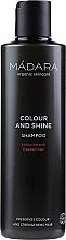 Parfumuri și produse cosmetice Șampon pentru păr colorat și tratat chimic - Madara Cosmetics Colour & Shine Shampoo