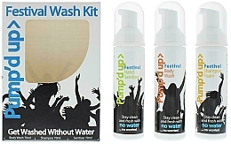 Parfumuri și produse cosmetice Set - Pump'd Up Festival Kit (sh/70g + sh/gel/70g + sanitiser/70g)