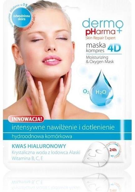 Mască de față - Dermo Pharma Skin Repair Expert Skin Lightening Face Mask 4D — Imagine N1