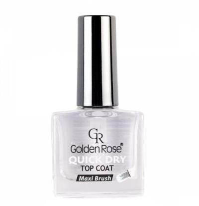 Gel de unghii pentru acoperirea superioară a lacului - Golden Rose Quick Dry Top Coat