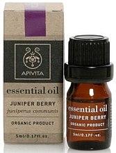 "Parfumuri și produse cosmetice Ulei esențial ""Juniper"" - Apivita Aromatherapy Organic Juniper Oil"