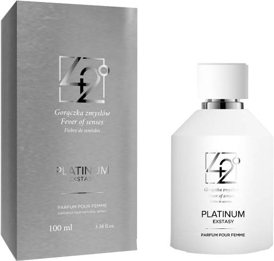 42° by Beauty More Platinum Extasy Pour Femme - Apă de parfum  — Imagine N1