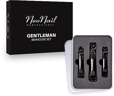 Set manichiură pentru bărbați - NeoNail Professional Gentleman Manicure Set — Imagine N1