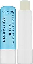 Parfumuri și produse cosmetice Balsam de buze - Avon Essentials Lip Balm With Vitamin E And Camola Oil