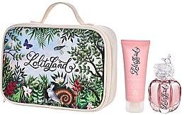 Parfumuri și produse cosmetice Lolita Lempicka Lolitaland - Set (edp/40ml + b/lot/75ml + bag)