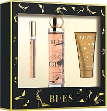 Parfumuri și produse cosmetice Bi-Es Selfie Girl - Set (edp/100ml + edp/12ml + sh/gel/50ml)