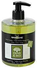 Parfumuri și produse cosmetice Săpun lichid cu ulei de măsline - Saryane Olive & Moi Liquid Soap