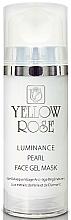 Parfumuri și produse cosmetice Gel-mască cu perle, pudră de diamant - Yellow Rose Luminance Pearl Face Gel Mask