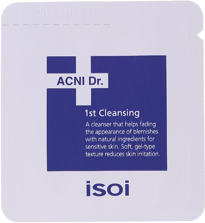 Set - Isoi Acni Dr. Trial Kit (tonic/30ml + gel/cr/7ml + ser/3ml + gel/7x1.3ml) — Imagine N5