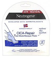 Parfumuri și produse cosmetice Mască pentru picioare - Neutrogena Cica-Repair Foot Mask
